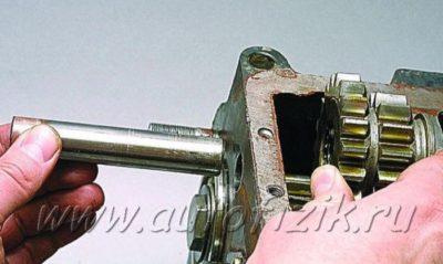 механизм выбора передач ваз 2110