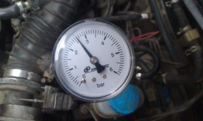 давление топливного насоса ваз 2110