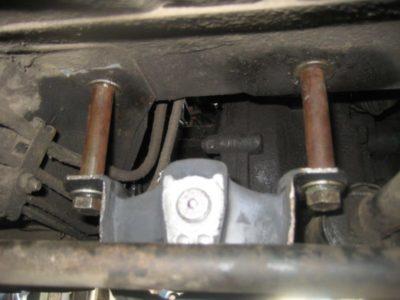 крепление двигателя ваз 2110