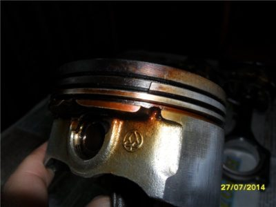 детонация двигателя при выключении зажигания