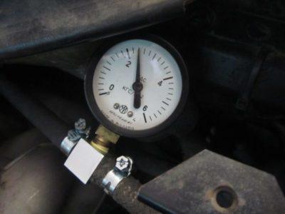 давление в топливной рампе ваз 2112