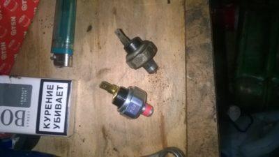 датчик давления масла ваз 2112 16 клапанов
