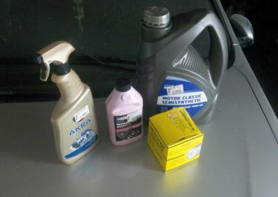какое масло заливать в двигатель лада ларгус