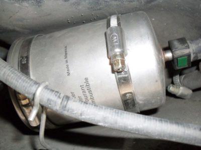 топливный фильтр ваз 2112