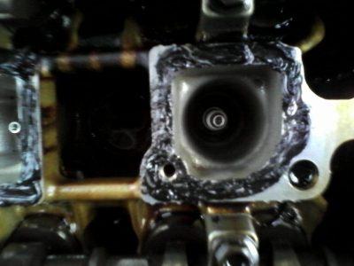 форд фокус 2 замена прокладки клапанной крышки