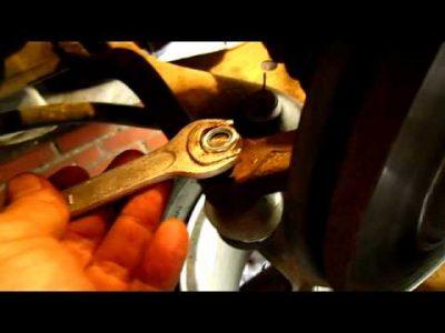 замена рулевого наконечника рено логан