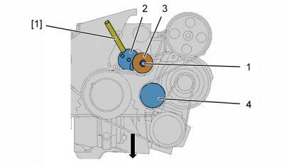 как снять ремень генератора