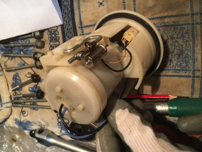 ремонт бензонасоса ваз 2106