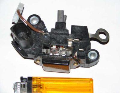 замена щеток генератора рено меган 2