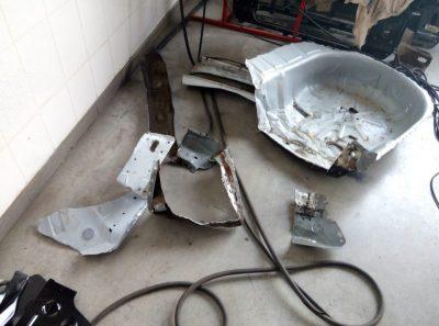 ремонт кузова рено логан