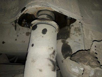 ваз 2107 замена задних амортизаторов