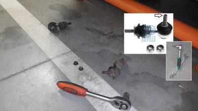 ремонт подвески мазда 3