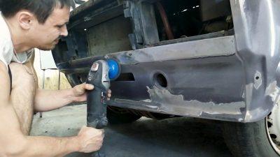 как снять бампер ваз 2109