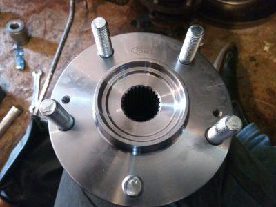 замена подшипника передней ступицы шевроле лачетти