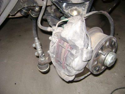 ваз 2107 ремонт ходовой