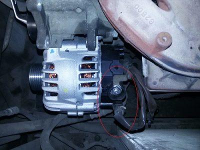 замена щеток генератора ваз 2110 не снимая генератор