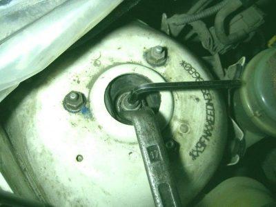 замена амортизаторов форд фокус 3