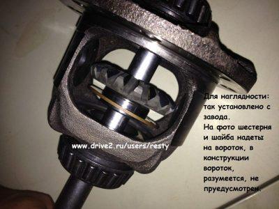 ремонт редуктора ваз 2106