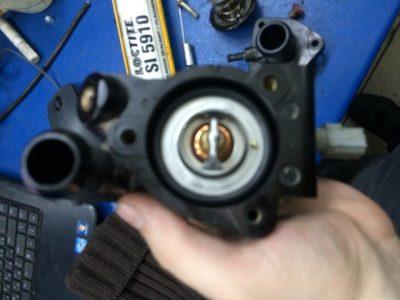 форд фьюжн замена термостата