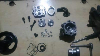 ремонт насоса гур форд фокус 2