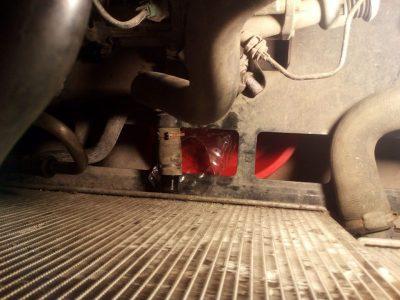 замена термостата рено дастер