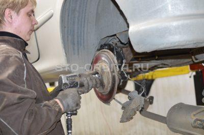 ремонт задней подвески пежо 206