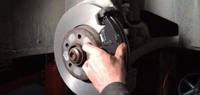 как поменять передние колодки на гранте