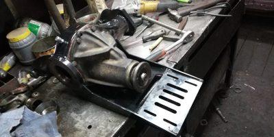 ремонт переднего редуктора нива шевроле