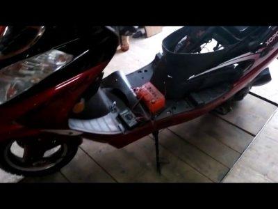 почему скутер не заводится со стартера