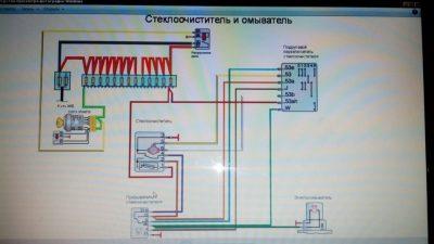 электросхема на ваз 2109