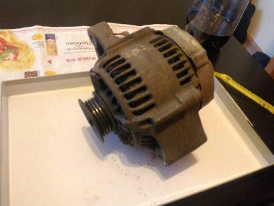замена щеток генератора ваз 2109