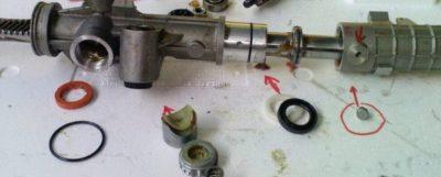 ремонт рулевой рейки ваз 2114