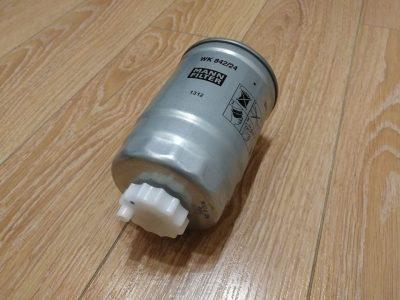 где находится топливный фильтр ваз 2115