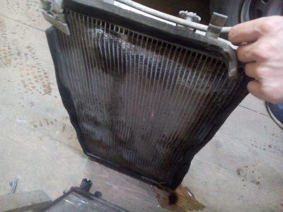 замена радиатора шевроле круз