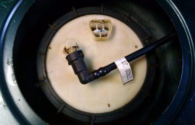 ваз 2107 замена бензонасоса