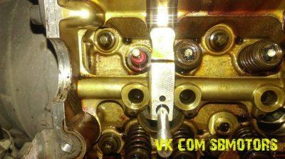 замена маслосъемных колпачков тойота королла