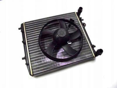 замена радиатора фольксваген поло