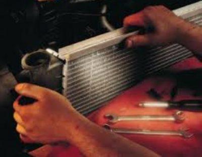 как почистить радиатор печки