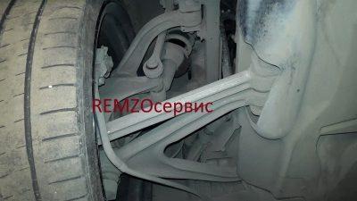 ремонт задней подвески бмв