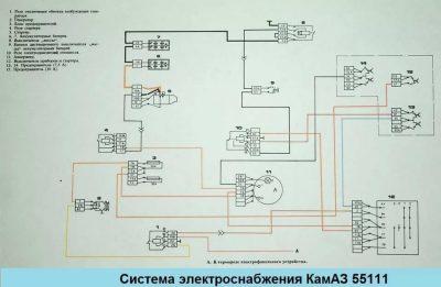 электросхема газ 3309 дизель