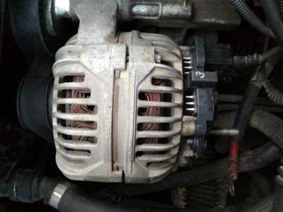 замена щеток генератора ваз 2107 не снимая генератор