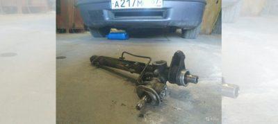 ремонт рулевой рейки ауди