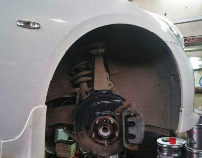 ремонт подвески ваз 2114