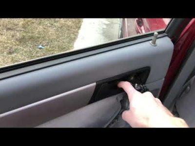 как снять обшивку двери шевроле лачетти