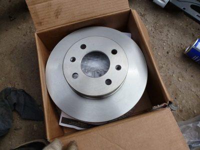 замена тормозных дисков форд фокус 2