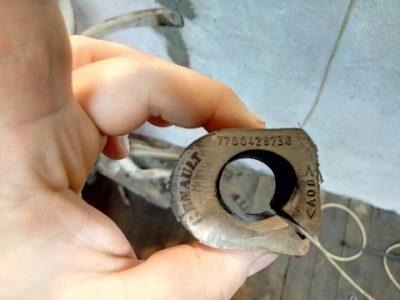 рено логан замена троса сцепления