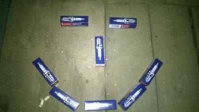 замена свечей хонда фит