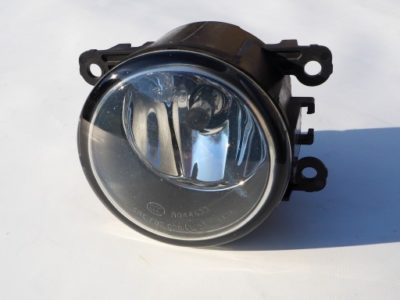 замена лампочки противотуманки рено логан