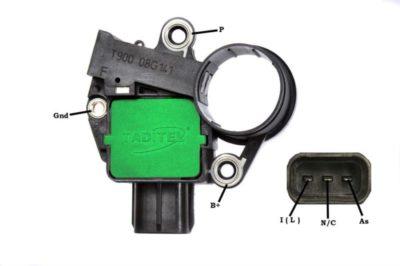 регулятор напряжения генератора форд фокус 2