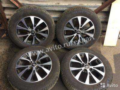 диаметр колес киа рио